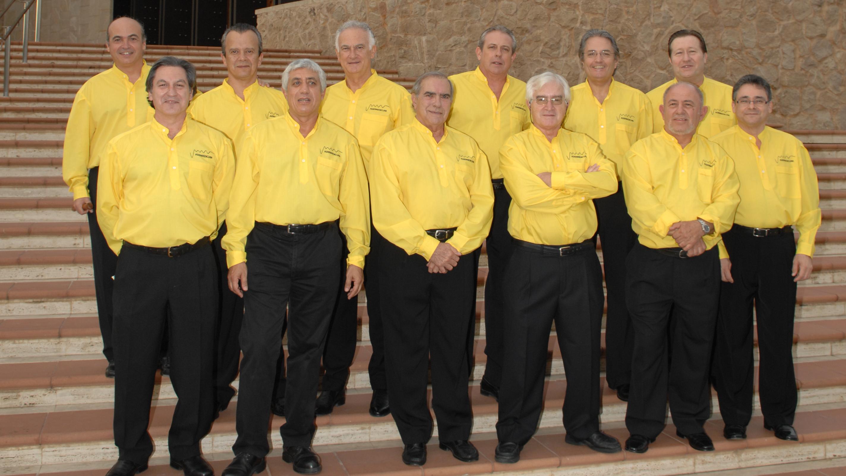 Miembros del grupo musical Vademedicum